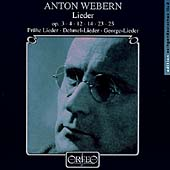 Webern: Lieder / Hesse, Barainsky, Ge&#231;er, Bauni, Israel