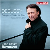 Debussy: Complete Works for Piano, Collector's Edition / Jean-Efflam Bavouzet, piano [5 CDs]