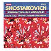 Shostakovich: Symphony no 4 / Järvi, Scottish National Orch