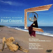 Thomas Sleeper (b.1956): Four Concertos / Huifang Chen, violin; Dale Underwood, alto saxophone; Tim Conner, trombone; Jennifer Culp, cello