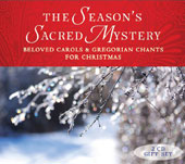 The Season's Sacred Mystery, Beloved Carols & Gregorian Chants for Christmas / Gloriae Dei Cantores Schola