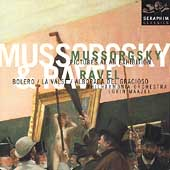 Mussorgsky: Pictures at an Exhibition;  Ravel /Maazel, et al