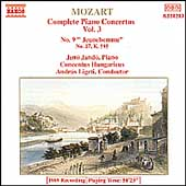 Mozart: Complete Piano Concertos Vol 3 / Jand&oacute;, Ligeti