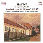 Haydn: Symphonies Vol 24 / M&uuml;ller-Br&uuml;hl, Cologne CO