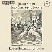 Haydn: Keyboard Sonatas Vol 9 - Divertimentos / Brautigam