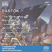 Bart&oacute;k: The Miraculous Mandarin, etc / Alsop, Bournemouth SO