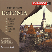 Music from Estonia / Järvi, Scottish National Orchestra
