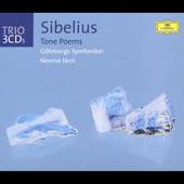 Trio - Sibelius: Tone Poems / Neeme Järvi, Göteborgs SO