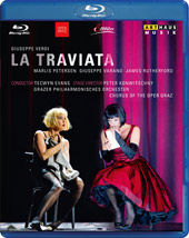 Verdi: La Traviata / Petersen, Varano, Rutherford [Blu-Ray]