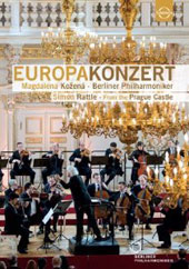 Europakonzert 2013 from Prague: Vaughan Williams: 'Tallis' Fantasia; Dvorak: Biblical Songs, Op. 93; Beethoven: Symphony no 6 / Magdalena Kožená, soprano; Rattle, Berlin PO [DVD]