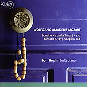 Mozart: Piano Sonatas K 331 & 570, etc / Tom Beghin