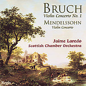 Bruch, Mendelssohn: Violin Concertos / Laredo, Scottish CO