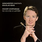 Mozart: Symphonies no 40 & 41 / Boyd, Manchester Camerata