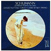 Schuman - Complete Works for Oboe / Nuttall, Sitsky
