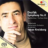 Dvorák: Symphony no 8, The Wild Dove, etc / Kreizberg, et al