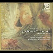 C.P.E. Bach: Symphonies, Concertos / Alperman, Bruns, et al