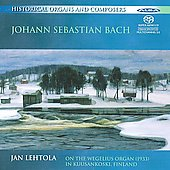 Bach: Organ Arrangements / Jan Lehtola