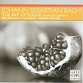 Bach: Art of Fugue for 4 Quartets / Breuer, et al