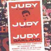 Judy Garland: Judy at Carnegie Hall [Remaster]
