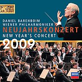 New Year's Concert 2009 / Daniel Barenboim, Vienna Philharmonic Orchestra