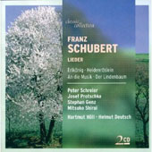 Schubert: Lieder - Erlkonig, An die Musik, Der Lindenbaum et al. / Schreier, Protschka, Genz, Shirai, Holl, Deutsch