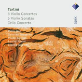 Tartini: 3 Violin Concertos; 5 Violin Sonatas