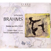 Brahms: Sonates Op. 120 no. 1 & 2
