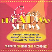 Original Casts: Great Broadway Shows [Complete Original Cast Recordings]