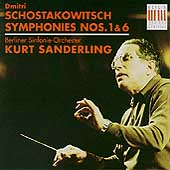 Schostakowitsch: Symphonies no 1 & 6 / Sanderling, Berlin