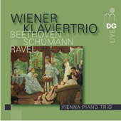 Vienna Piano Trio plays Beethoven, Schumann, Ravel