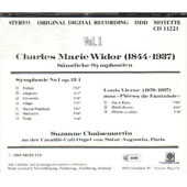 Widor, Vierne: Organ Works / Suzanne Chaisemartin