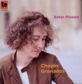 Pianist Ester Pineda plays Chopin, Granados