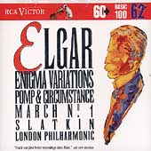 Basic 100 Vol 62 - Elgar: Enigma Variations, etc / Slatkin