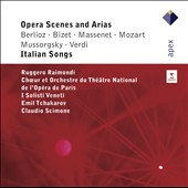 Opera Scenes and Arias; Italian Songs / Ruggero Raimondi