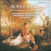 Boismortier: 5 Trio Sonatas / Nova, Schultz, Vernizzi, Oman, Brizi