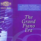 Grand Piano - The Grand Piano Era / Bauer, Busoni, et al