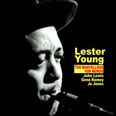 Lester Young (Saxophone): Too Marvellous for Words
