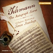 Telemann: The Autograph Scores / Collegium Musicum 90