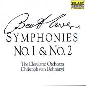 Classics - Beethoven: Symphonies 1 & 2 / Dohnanyi, Cleveland