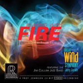 Music for winds by Frank Ticheli: Playing With Fire / Dallas Wind Symphony with the Jim Cullum Jazz Band