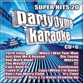 Karaoke: Party Tyme Karaoke: Super Hits, Vol. 20