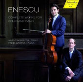 Enescu: Complete Works for Cello and Piano / Valentin Radutiu, cello; Per Rundberg, piano