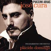 Puccini: Arias / Cura, Domingo, Philharmonia Orchestra