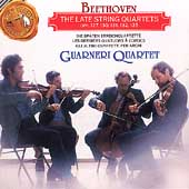 Beethoven: Late String Quartets / Guarneri Quartet