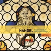Handel: Dixit Dominus, Zadok the Priest; The ways of Zion do Mourn / Monteverdi Choir; John Eliot Gardiner