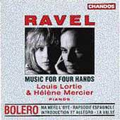 Ravel: Music for Four Hands / Louis Lortie, H&eacute;l&egrave;ne Mercier