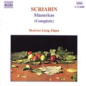 Scriabin: Mazurkas (Complete) / Beatrice Long