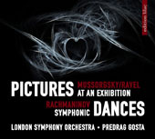 Mussorgsky: Pictures at an Exhibition; Rachmaninov: Symphonic Dances / Predrag Gosta, London Symphony Orchestra