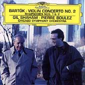 Bart&#243;k: Violin Concerto no 2, etc / Shaham, Boulez, Chicago