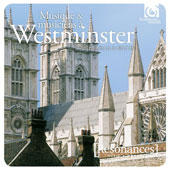 Music & Musicians at Westminster Abbey - vocal & choral pieces by Robert White; Robert Parsons; Gibbons; Pelham Humfrey, Purcell, Vaughan Williams, Britten / various artists [2 CDs]
